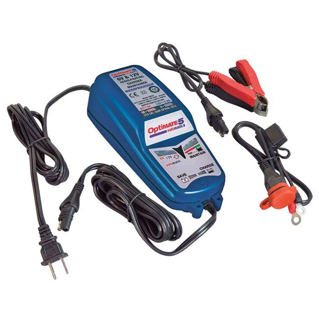 TM-223 TecMate OptiMATE 5 VoltMatic Battery Saver & Charger