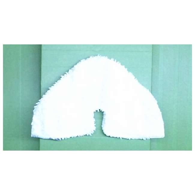 Triangle-Microfiber-Pad-S3801CO-P118W Shark Microfiber Steam Mop Triangle Pads for S3801CO (New Without Box) 2