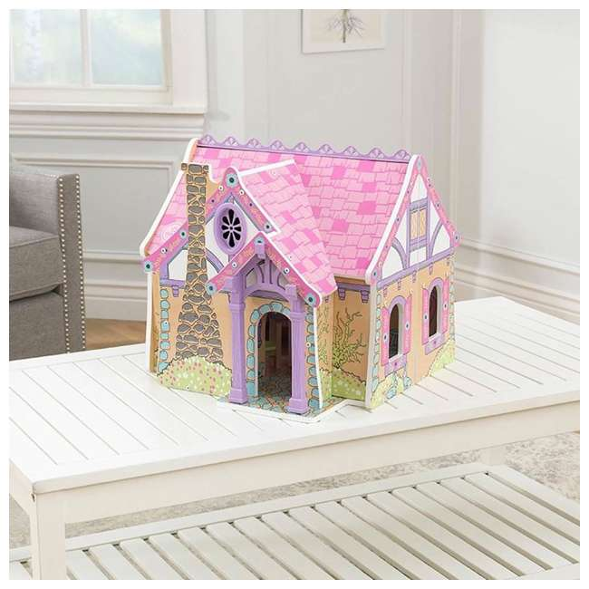 KDK-65930 KidKraft Enchanted Forest Wooden Dollhouse 2