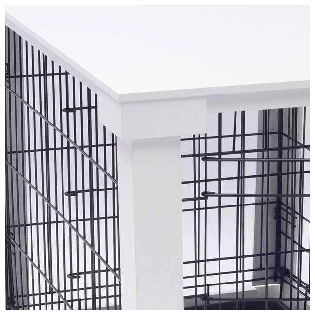 PTH0251720100 Zoovilla Decorative Dog Cat Cage Crate, White 6