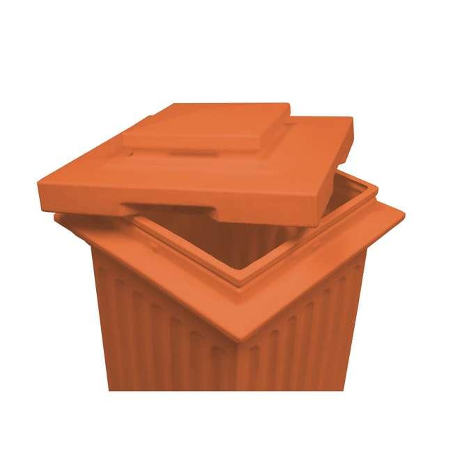 SV-COL-TC Good Ideas Savannah Outdoor Column 30 Gallon Storage and Waste Bin, Terra Cotta 1
