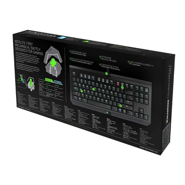 5 x RZ03-00811000-R3U1 Razer Switch BlackWidow Tournament Keyboard (5 Pack) 5