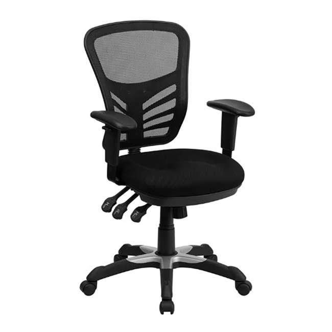 HL-0001-GG-U-A Flash Furniture Mesh Seat Executive Office Swivel Chair, Black (Open Box) 2