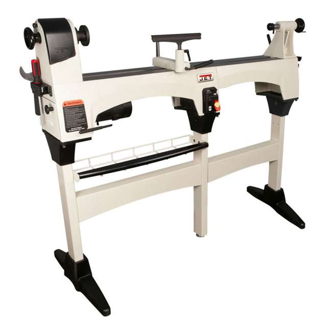 JPW-719200-U-B JET 12 x 21 Inch 3,600 RPM Variable Speed Bench Top Woodworking Lathe  |  (Used) 2
