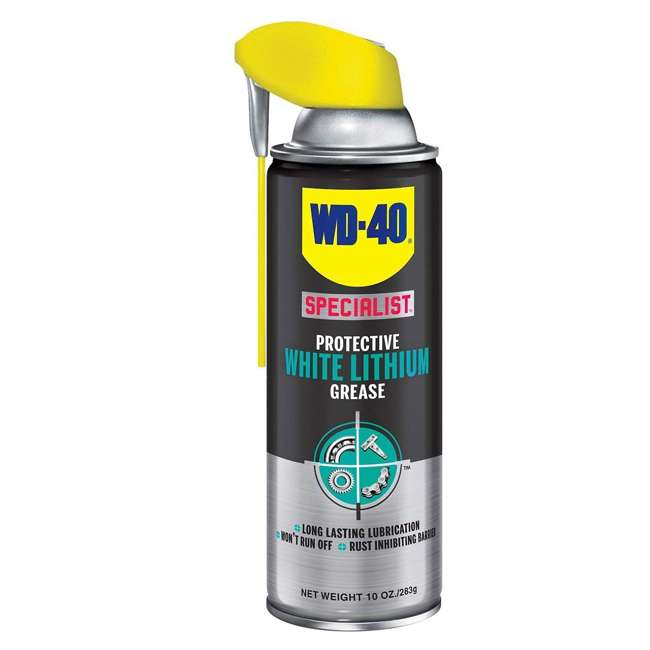 6 x WD-300240 WD-40 Specialist White Lithium Grease Spray (6 Pack) 1