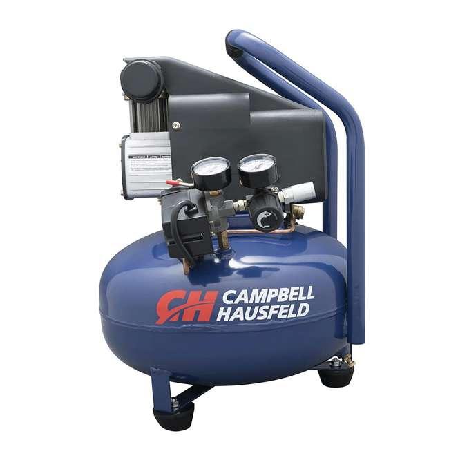 Campbell Hausfeld Air Compressor 6 Gallon : Campbell hausfeld gallon pancake air compressor hm av
