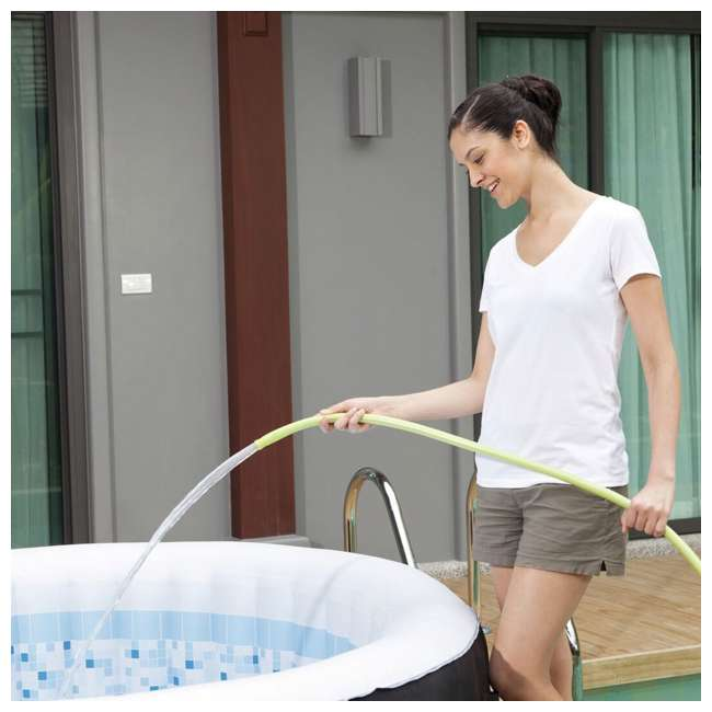 13804-BW + 3 x 90352E-BW Coleman SaluSpa Inflatable Hot Tub + 3 Filter Cartridges 4
