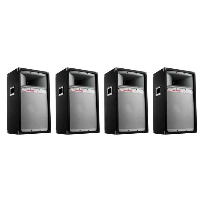 4 x TP1200 MTX TP1200 12-Inch 300W Tower Speaker (4 Pack)