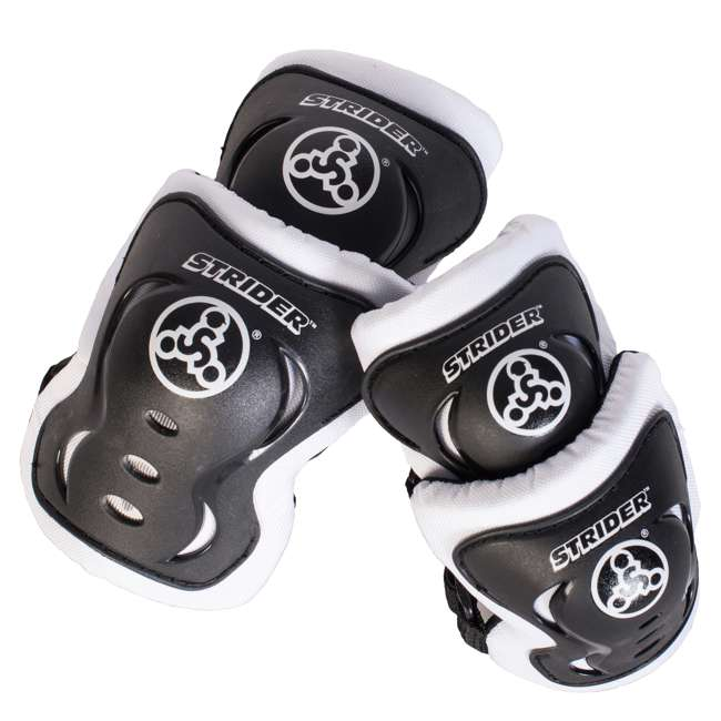 ST-S4WT + APADSET-SM Strider 12 Sport Balance Bike + Protection and Safety Elbow and Knee Pad Set 2