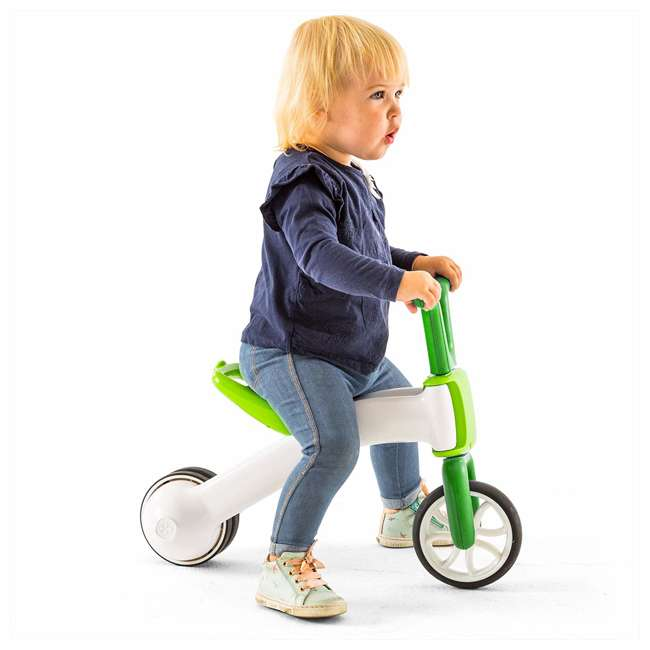 CPBN02LIM Chillafish CPBN02LIM Bunzi Childrens Gradual Balance 2 in 1 Tricycle Bike, Lime 2