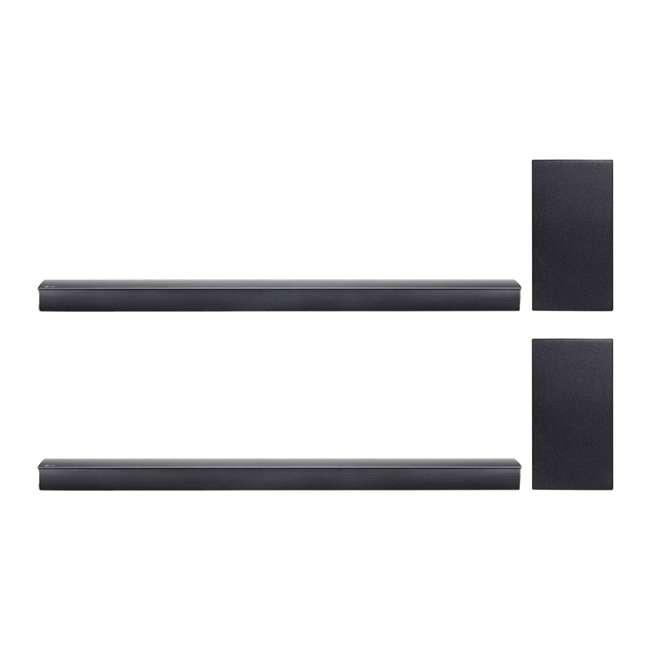 SJ4Y-RB LG 300-Watt Wireless Sound Bar (Certified Refurbished) (2 Pack)