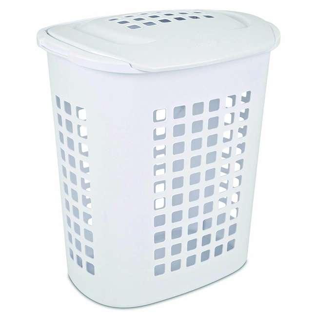 12218004-U-A Sterilite 2.3 Bushell 81 Liter Lift Top XL Laundry Basket Hamper (Open Box)