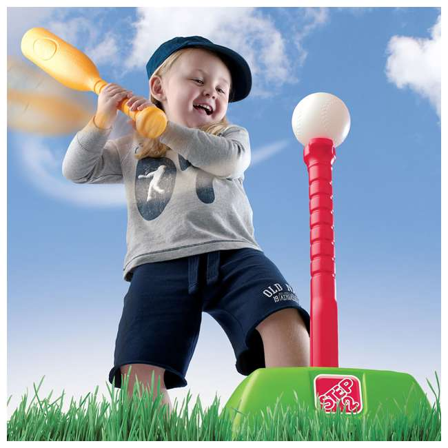 844300-U-A Step2 Toddler 2-in-1 T-Ball and Golf Indoor/Outdoor Sports Play Set (Open Box) 1