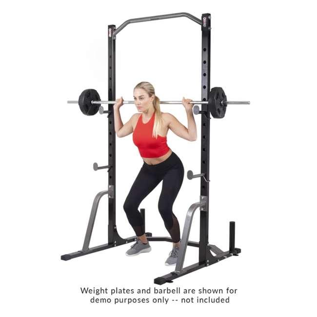 PBC530 Body Champ PBC530 U Frame/ Cage Power Rack System & Olympic Weight Plate Storage 4