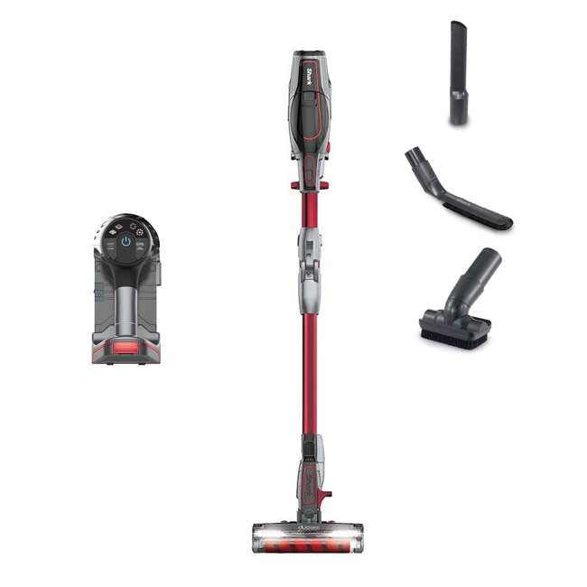 IC205_EGB-RB + 64113B Shark IONFlex Vacuum (Cert Refurb) + Arm & Hammer Cleaner 3