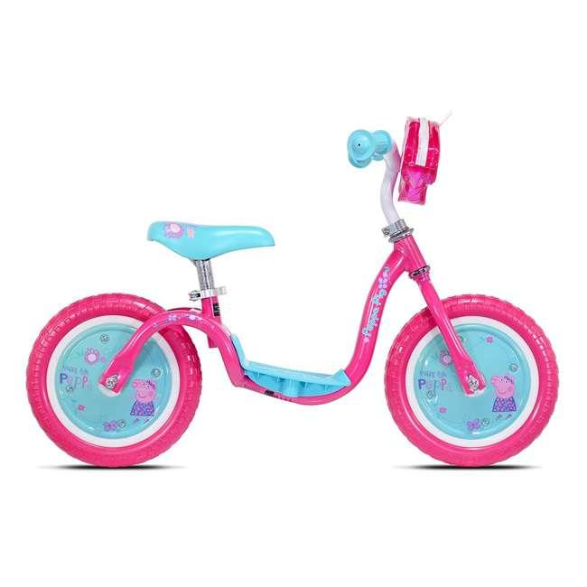 KZM15SBB KaZAM v2e No Pedal Footrest Peppa Pig Neo Balance Bike 1