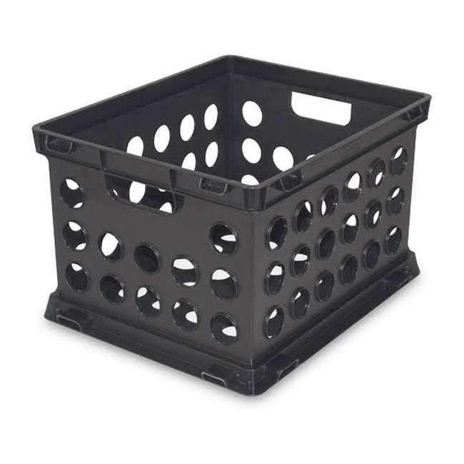 6 x 16939006-U-A 6) Sterilite Plastic Heavy Duty Crate Stacking Storage Containers (Open Box) 2