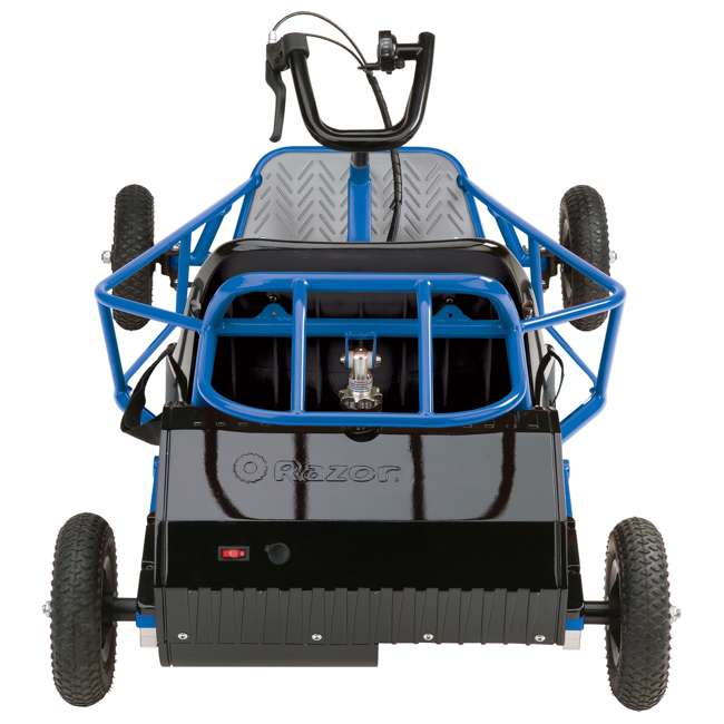 25143540 + 25143511 Razor 25143540 Kids Youth Electric Go Kart Dune Buggy, Blue FrameRazor Dune Buggy 3