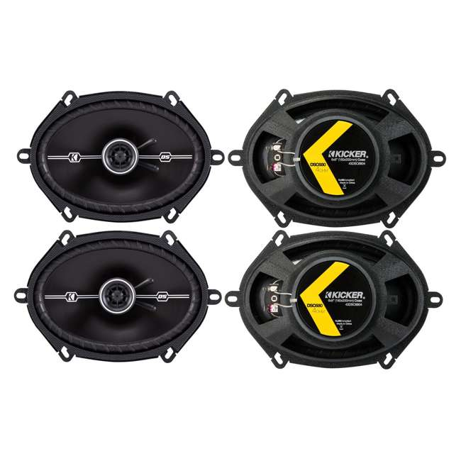 43DSC6804 4) Kicker 43DSC6804 D-Series 6x8-Inch 200W Speakers