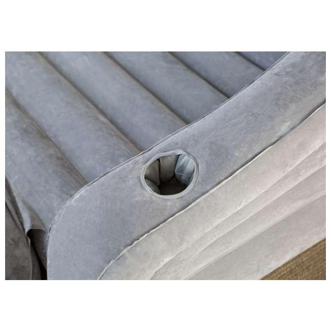 68566VM + 66641E Intex Inflatable Sofa and Air Mattress with Electric Air Pump 3