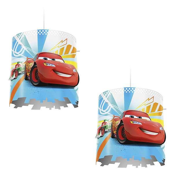 PLC-7175132U0 Philips Disney Pixar Cars Ceiling Suspension Lampshade 2-Pack