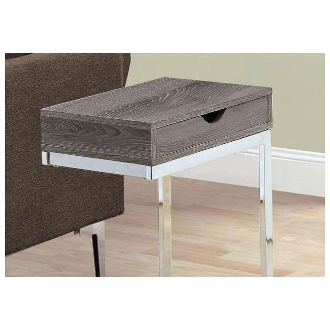 VM-3254 Monarch Specialties Accent End Table with a Drawer 1