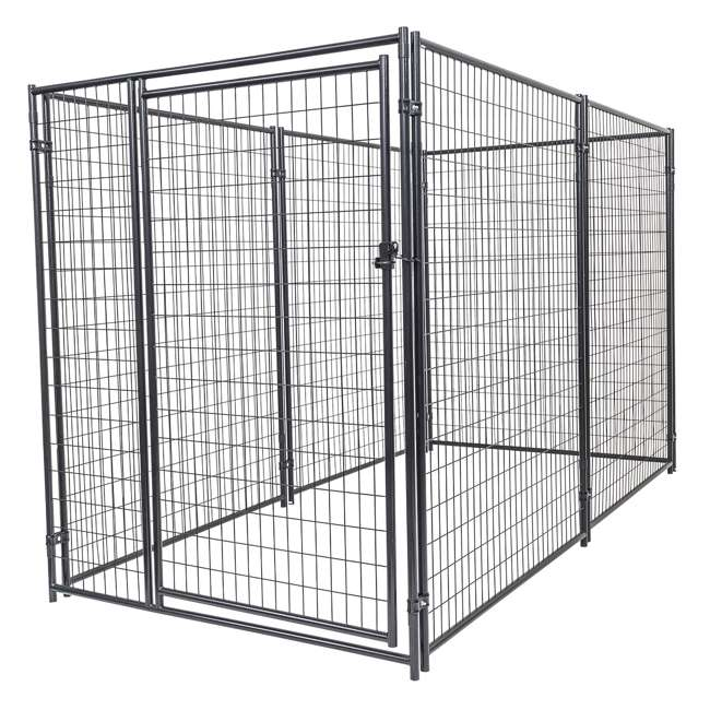 CL 66150 Lucky Dog Large Modular Welded Wire Box Indoor/Outdoor Kennel 10'x5'x6' (2 Pack) 1