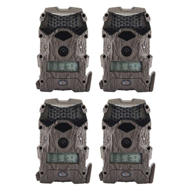 4 x WGICM0556 Wildgame Innovations M16i8-8 Mirage Series Outdoor Trail Camera, Green (4-Pack)