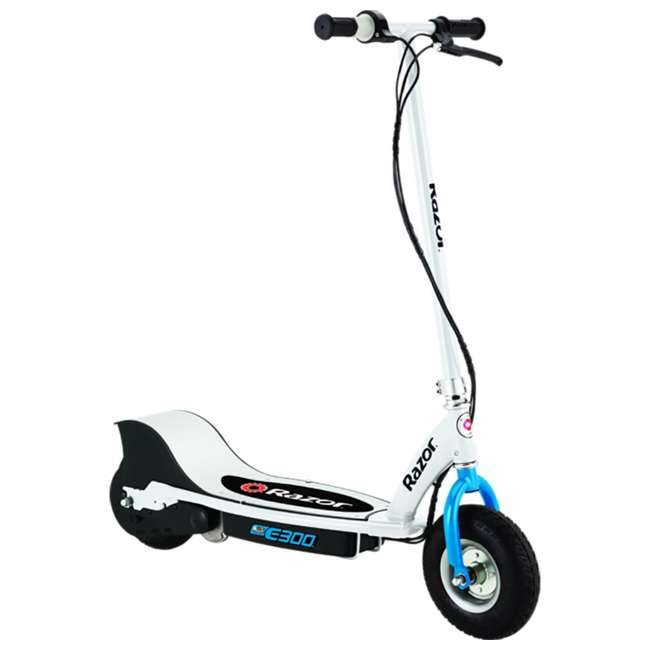 13113610-U-C Razor Teen Rechargeable 24 V Electric 250 W Motorized Scooter. White (For Parts)