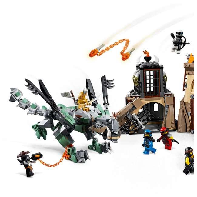 6212703-U-A LEGO NINJAGO Dragon Pit 1660 Piece Castle Set 9 Minifigure Characters (Open Box) 2