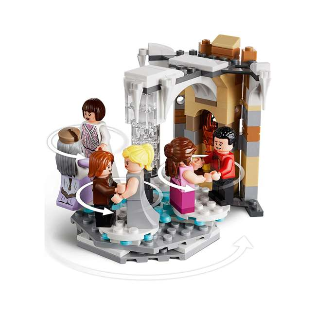 6251024 LEGO 75948 Hogwarts Clock Tower Block Building Kit w/ 8 Harry Potter Minifigures 4