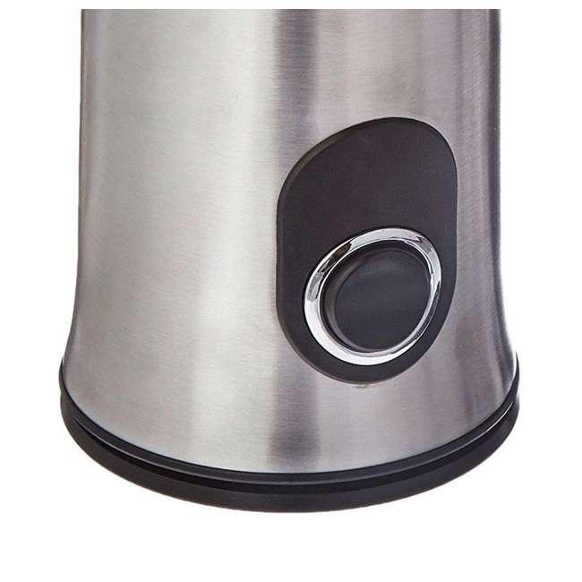 Ninja Coffee Grinder ~ Ninja coffee bar stainless steel push button bean grinder