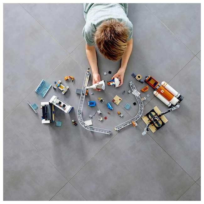 6251727 LEGO City Deep Space Rocket & Launch Control 837 Piece Building Set w/ 6 Minifig 1
