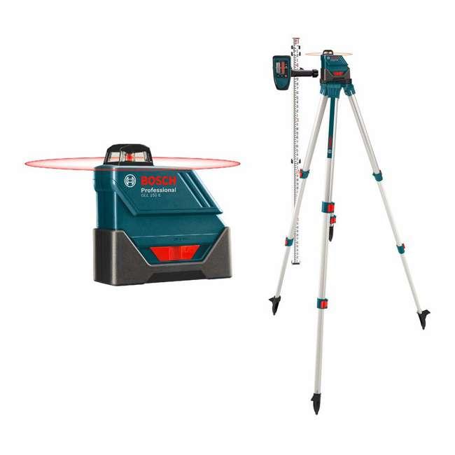 GLL 150 ECK-RT-RB Bosch GLL 150 ECKRT Self Leveling 360 Degree Laser Level (Certified Refurbished)