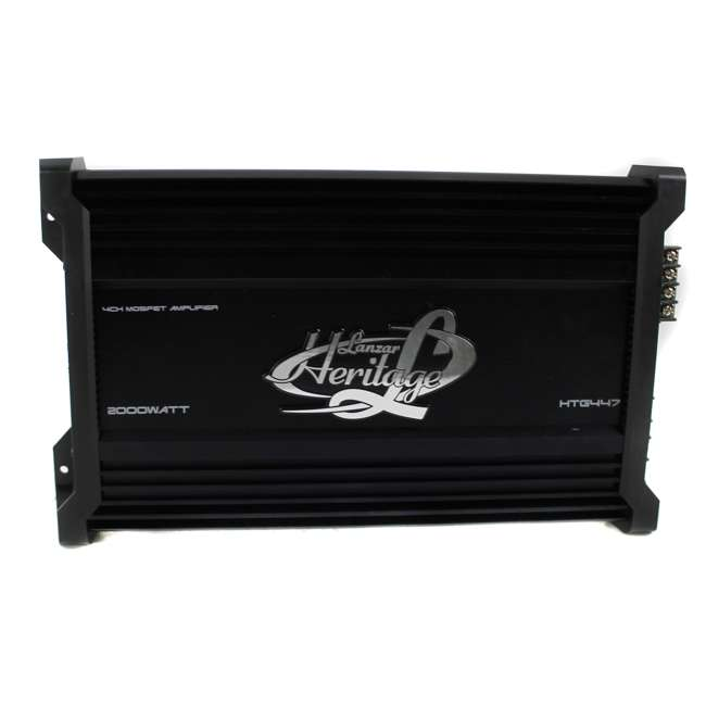 HTG447 Lanzar HTG447 2000W 4 Channel Digital Amplifier (2 Pack) 2