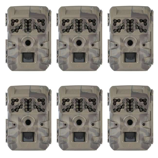 6 x MCG-13335 Moultrie A700i Compact Night Vision Deer Game/ Trail Camera, (6 Pack)