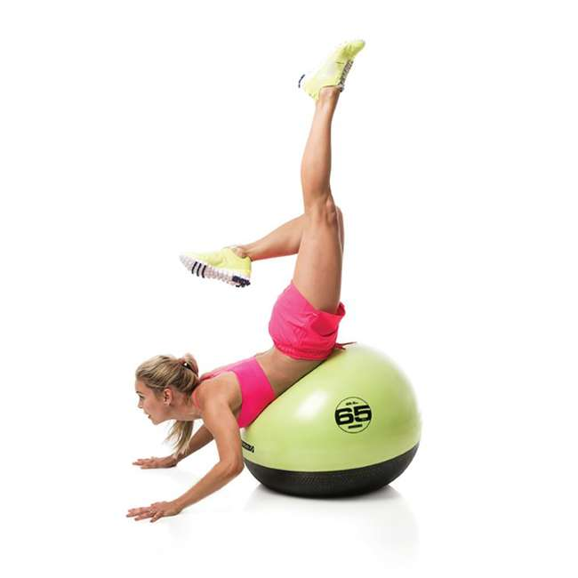 EST-GB65 Escape Fitness USA ESTGB65 Green Inflatable Exercise Ball for Steady Ab Workout 3