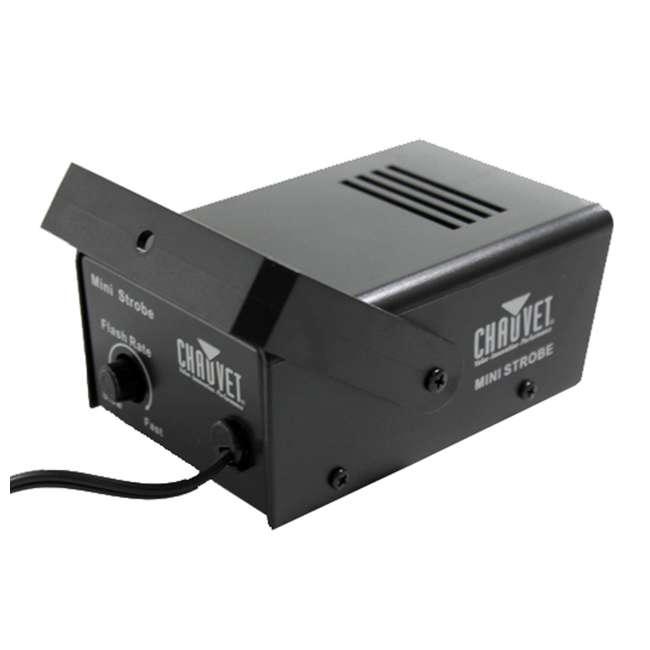 MINISTROBE-LED-U-A Chauvet DJ Plug-and-Play Mini Strobe Light Effect Fixture with 21 LEDs(Open Box) 3