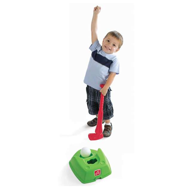 844300-U-A Step2 Toddler 2-in-1 T-Ball and Golf Indoor/Outdoor Sports Play Set (Open Box) 2