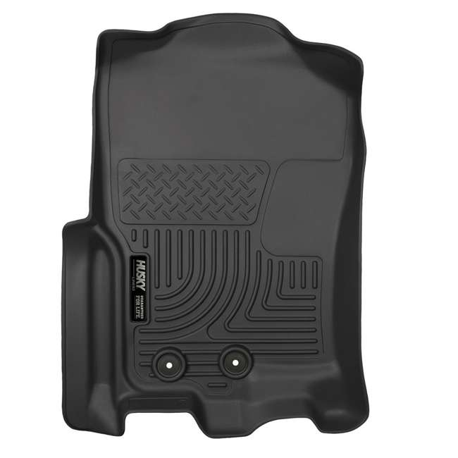 HUSKY-18371-OB Husky Liner Weatherbeater Front Floor Liner for Ford Expedition & Lincoln Navigator 3