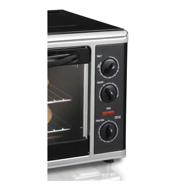 Hamilton Beach Countertop Oven with Convection and Rotisserie : 31100