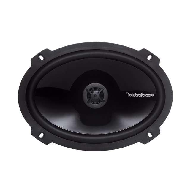P1692 + TW6X9 2) Rockford Fosgate P1692 6x9-Inch 150W Speakers + 2) Angled 6x9-Inch Speaker Box (Package) 2
