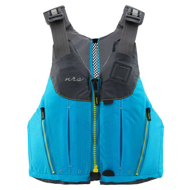 40073.01.103 NRS Womens Nora Type III Fishing Life Jacket Vest PFD w/ Pockets, Large/XL, Teal