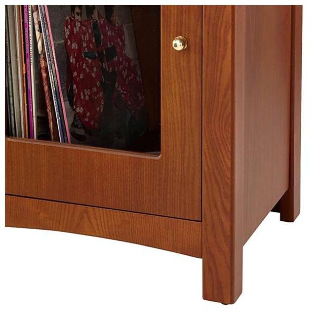 ST75-PA Crosley Bardstown Record Player Vinyl Storage Center, Paprika 3