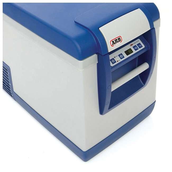 10800472-ARB + MTX02BK ARB Portable 50 Qt. Car Travel Fridge Freezer & MAXTRAX Vehicle Recovery Device 10