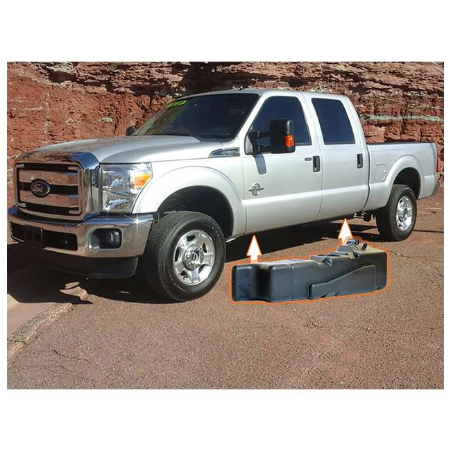 7020317 Titan Ford Crew Cab Long Bed 2017-2019 Replacement Gas Fuel Tank 3