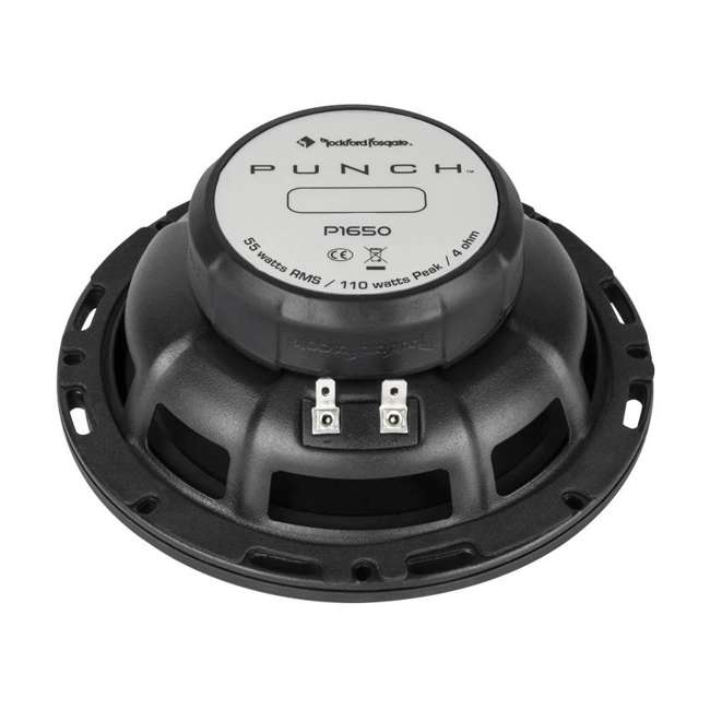 P1650 + P1692 2) Rockford Fosgate P165 6.5-Inch 110W + 2) 6x9-Inch 150W 2-Way Speakers (Package) 4