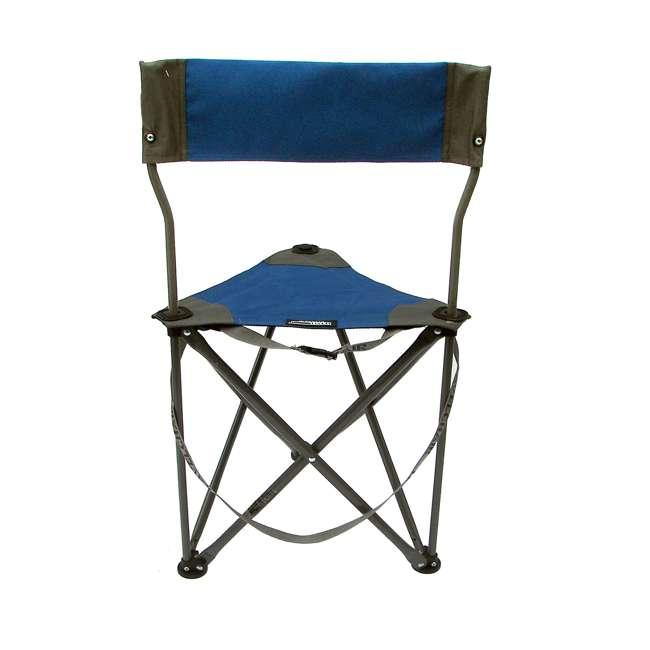 1489V2B TravelChair Ultimate Slacker 2.0 Portable Outdoor Folding Stool Seat, Blue 2
