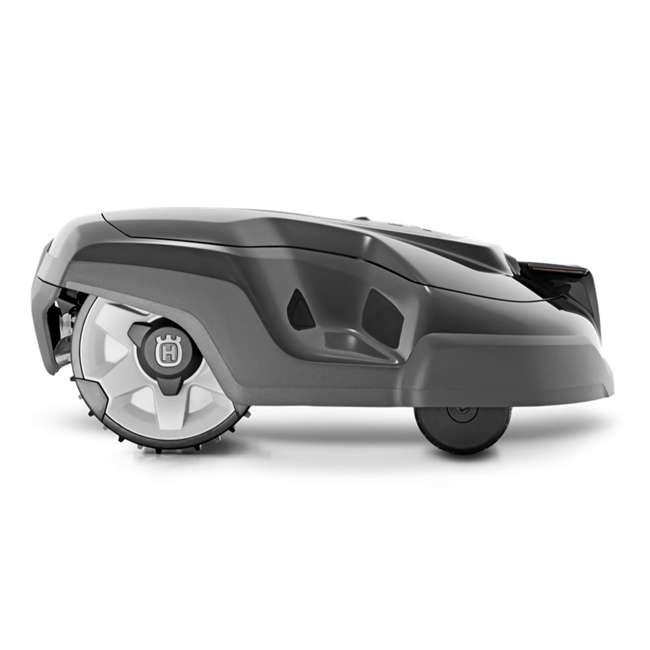 Husqvarna Automower 315 Robotic Lawn Mower with Medium Installation Kit