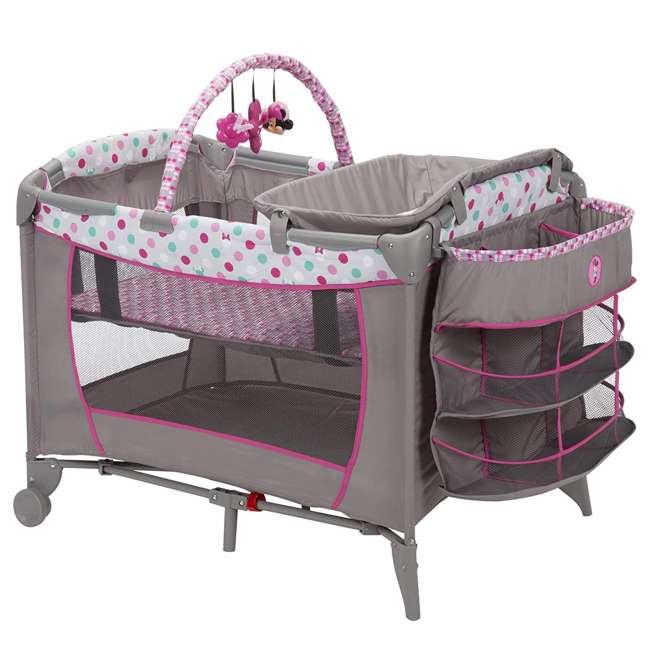 PY373EGF Disney Baby PY373EGF Sweet Wonder Play Yard with Bassinet, Storage, Minnie Dot 3